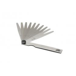 KINEX Mierky listové 0,05-1 mm dĺžka 100 mm