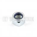 DIN 985 M 10x1 8.0 ZN poistná matica s jemným stúpaním