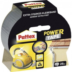 PATTEX Power tape silver páska textilná 50x25m