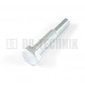 DIN 931 M 12x60 10.9 ZN skrutka so 6-hrannou hlavou s čiastočným závitom