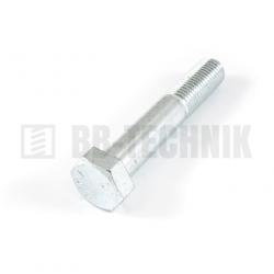 DIN 931 M 16x80 10.9 ZN skrutka so 6-hrannou hlavou s čiastočným závitom