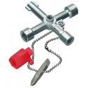 KNIPEX Kľúč kombinovaný 76mm na skrine