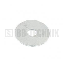 Podložka karosárska 10,5x25 ZN extra široká