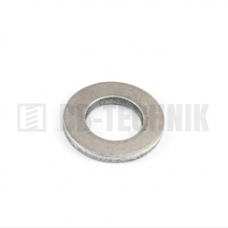 DIN 125A M 4/4,3/9 A2 nerezová plochá podložka
