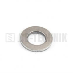 DIN 125A M 5/5,3/10 A2 nerezová plochá podložka