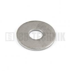 DIN 9021 M 6/6,4/18 A2 nerezová široká plochá podložka