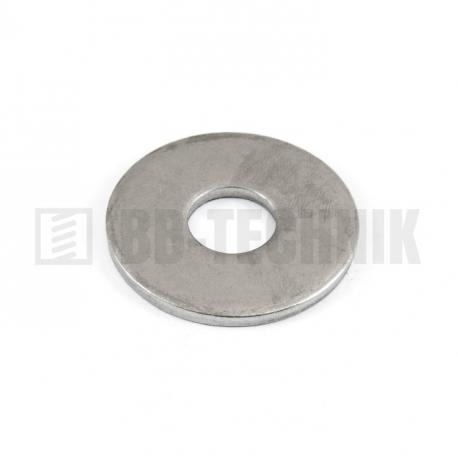 DIN 9021 M 8/8,4/24 A2 nerezová široká plochá podložka