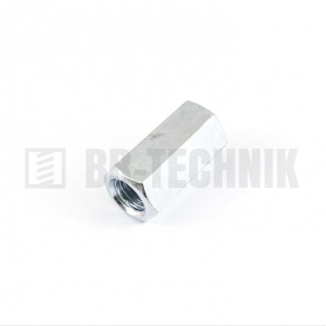DIN 6334 M 10x30 ZN predĺžená šesťhranná matica