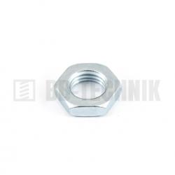 DIN 439B M 30x2 ZN nízka šesťhranná matica s jemným závitom