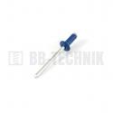 Nit trhací AL/ST 4,0x10 hliník RAL 5010 modrá