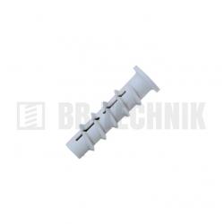 GB GB6 10x50 hmoždina do plynobetónu, nylon