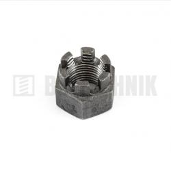 DIN 935 M 27x1,5 6.0 korunková matica