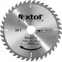 EXTOL Kotúč pílový 125x1,4x22,2mm s SK platkami - 40z