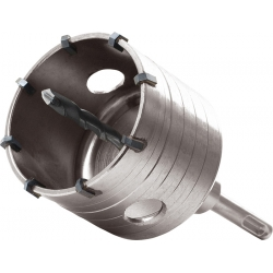 EXTOL Vrták korunkový 73mm SDS+ karbidové hroty