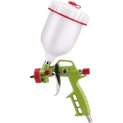 EXTOL Pištoľ striekacia s hornou nádržkou