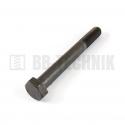 DIN 960 M 12x1,5x100 10.9 skrutka s jemným závitom so 6-hrannou hlavou s čiastočným závitom