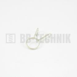 Hadicová spona 11-13 W1 pérová drôtená