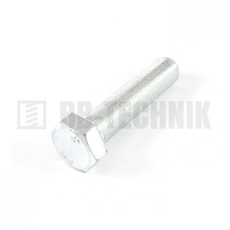 DIN 961 M 14x1,5x50 10.9 ZN skrutka s jemným závitom so 6-hrannou hlavou s celým závitom
