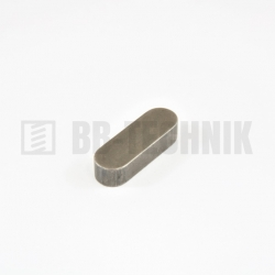 DIN 6885A 12x8x100 oceľové pero