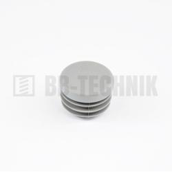 Krytka kruhová 38 mm šedá