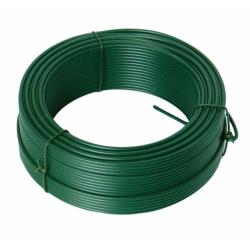 Drôt napínací 3,4 mm PVC zelený 50 m