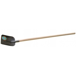 Lopata štandard s násadou kladivkový lak