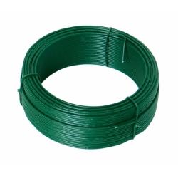 Drôt viazací 2,0mm PVC Zelený 50m