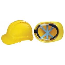 Prilba ochranná žltá