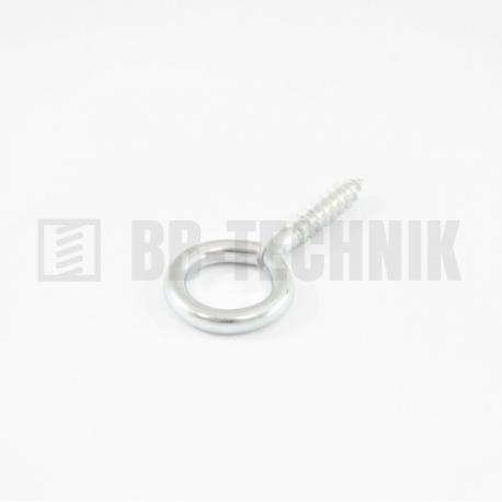 Hák O 1/20x10 ZN (3,3x20mm)