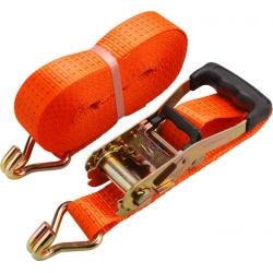 EXTOL Pás sťahovací s račňou hák 2 tonový dlžka 6m