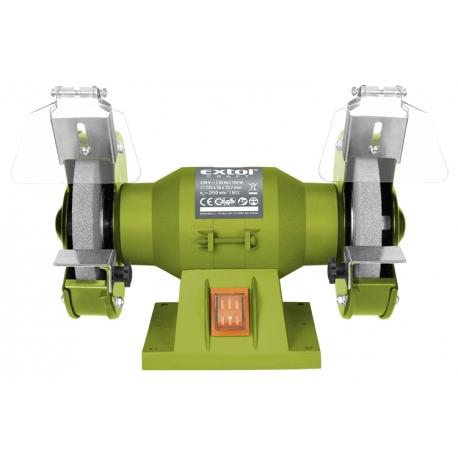 Bruska dvojkotucova 150W pr.kotuca 125/16/12,7mm EXTOL