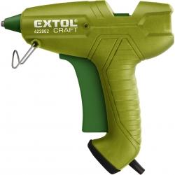 Pištoľ lepiaca tavná 200W pre tav.tyčinky pr.11,2mm EXTOL