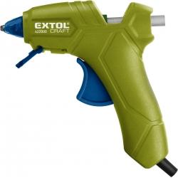 Pištoľ lepiaca tavná 25W pre tav.tyčinky pr.7,2mm EXTOL