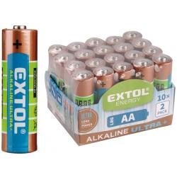 Batéria Alkalická typ AA balenie 20ks 1,5V