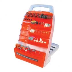 EXTOL Nadstavce rotačné SADA 150-dielna stopka 3mm