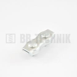Lanová svorka DUPLEX 4mm ZN