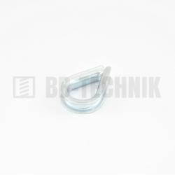 DIN 6899 D 3 ZN lanová očnica