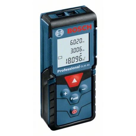 Laserový merač vzdialeností GLM 40 Professional BOSCH