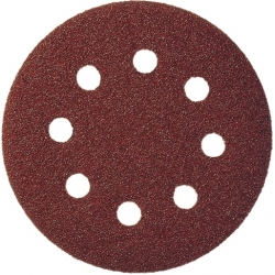 KLINGSPOR Brúsny papier 125 mm ZR 240 suchý zips na kov, drevo