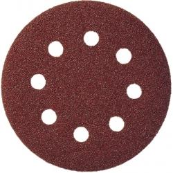KLINGSPOR Brúsny papier 125 mm ZR 400 suchý zips na kov, drevo