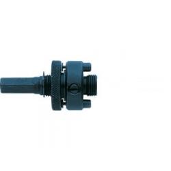 Adaptér na vykružovaciu pílu 14-30 mm s centrovacím vrtákom 6-hran