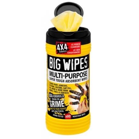 Big Wipes Industrial+ 80ks