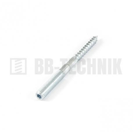Kombinovaná skrutka 10x100 ZN