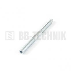 Kombinovaná skrutka 6x100 ZN