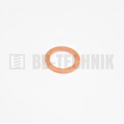 DIN 7603A 13x18,0x1,5 meď CU tesniaca podložka