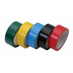 Izolačná páska 19 mm x 5 m sada 5 ks farebná