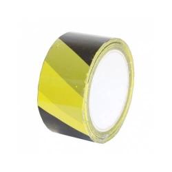 Výstražná žlto čierna lepiaca páska 50 mm x 66 m