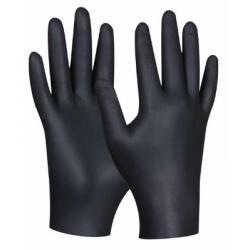 Jednorázové rukavice Gebol black nitril 80ks/bal. veľ. M