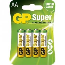 GP Batéria Super Alkalická AA 1,5V balenie 4ks