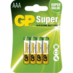 GP Batéria Super Alkalická AAA 1,5V balenie 4ks